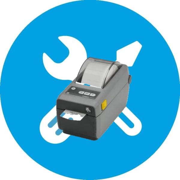 Настройка принтера этикеток Zebra ZD410