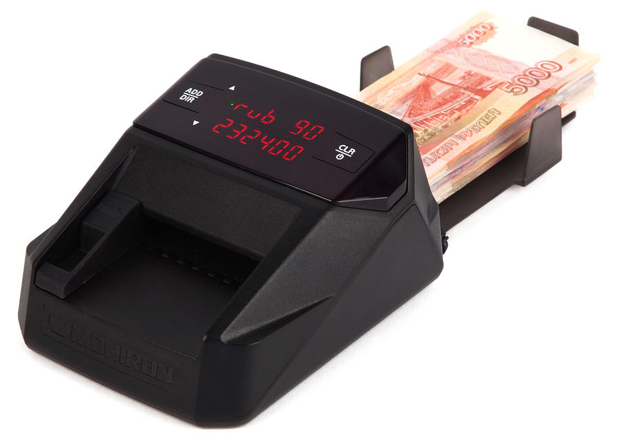 Ошибки автоматических детекторов банкнот MONIRON